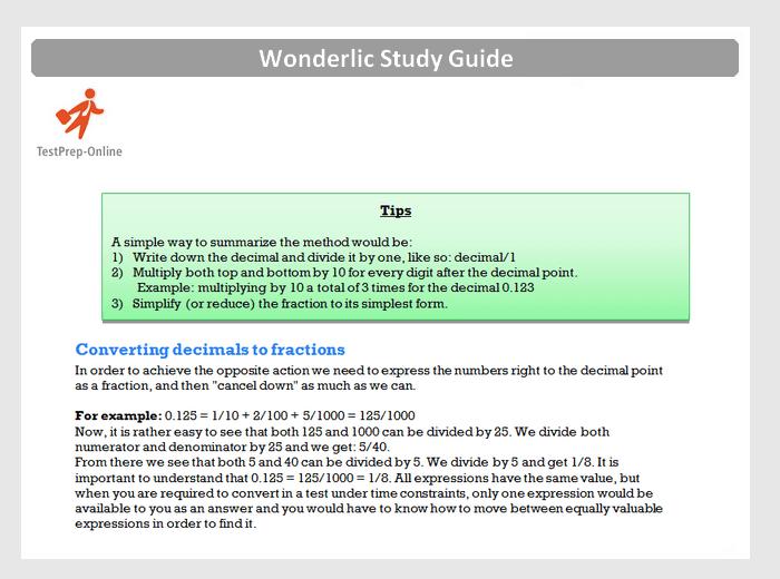 Free Wonderlic Practice Test [2019] + Study Guide ...