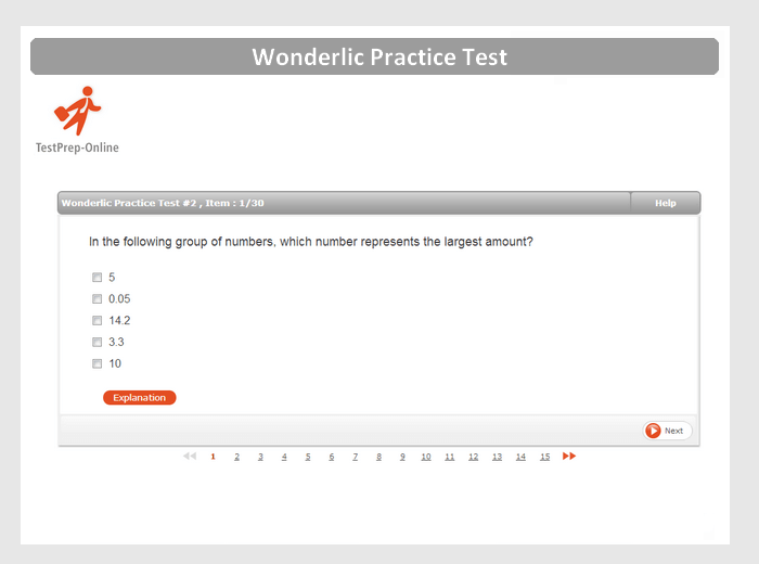 Wonderlic Sample Questions for Cognitive Ability Tests