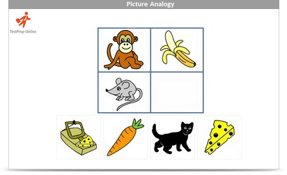 Picture Analogies Sample Question