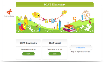 SCAT Sample Tests Elementary
