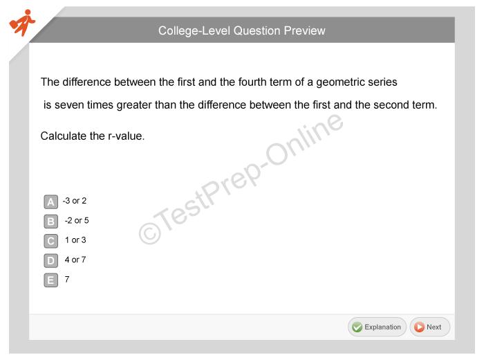 Accuplacer test question