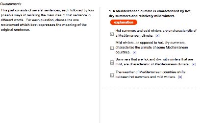 Basic English Sample Question 2