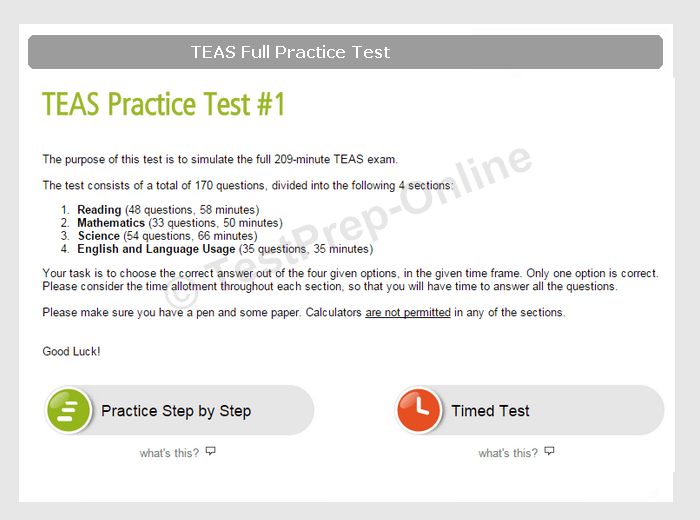 photo about Printable Teas Practice Test titled Cost-free ATI TEAS Train Exams PDF Publications - TestPrep-On-line