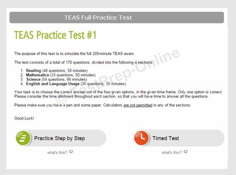 Free Ati Teas Practice Tests Pdf Guides Testprep Online