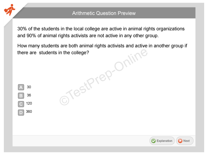 Sample Questions for Students - Welcome to ACCUPLACER