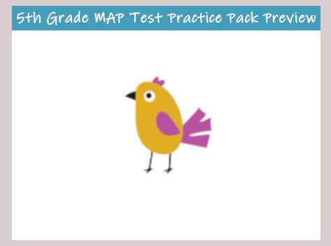 MAP Test Practice for 5th Grade - TestPrep-Online  Th Grade Map Test Practice on