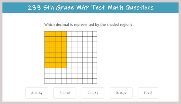 MAP Test Practice & Info for the 5th Grade - TestPrep-Online